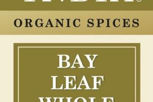 BAY LEAF WHOLE ORGANIC SPICES