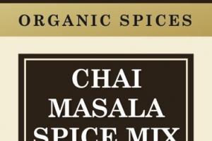 CHAI MASALA SPICE MIX ORGANIC SPICES