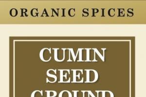ORGANIC SPICES CUMIN SEED GROUND