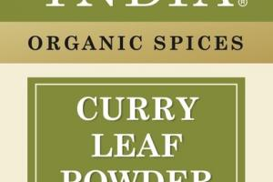 ORGANIC SPICES CURRY LEAF POWDER