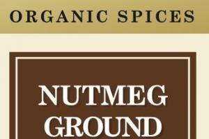 NUTMEG GROUND ORGANIC SPICES