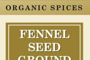 ORGANIC FENNEL SEED GROUND SPICES