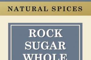 WHOLE ROCK SUGAR NATURAL SPICES