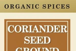 ORGANIC SPICES CORIANDER SEED GROUND