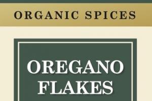 ORGANIC SPICES OREGANO FLAKES