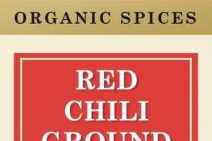 RED CHILI GROUND ORGANIC SPICES