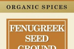 FENUGREEK SEED GROUND ORGANIC SPICES