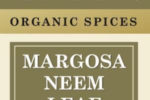 ORGANIC MARGOSA NEEM LEAF SPICES
