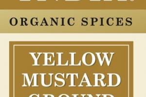 YELLOW MUSTARD GROUND ORGANIC SPICES