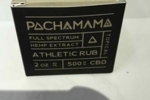 CBD 500 MG FULL SPECTRUM HEMP EXTRACT ATHLETIC RUB