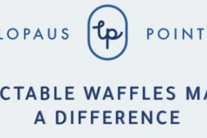 DELECTABLE WAFFLES MAKING A DIFFERENCE