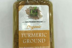 100% PREMIUM ORGANIC TURMERIC GROUND