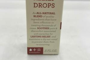 HOMEOPATHIC EARACHE RELIEF DROPS