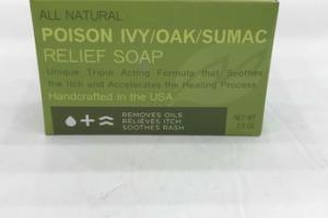 POISON IVY/OAK/SUMAC RELIEF SOAP