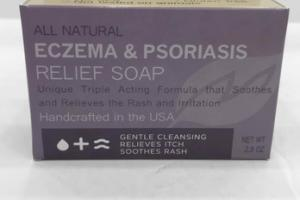 ALL NATURAL ECZEMA & PSORIASIS RELIEF SOAP