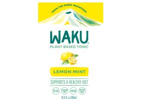 LEMON MINT PLANT BASED TONIC