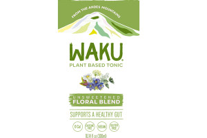 UNSWEETENED FLORAL BLEND PLANT BASED TONIC