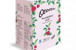 RASPBERRY LEAF BIO DEGRADABLE WHOLE LEAF TE BAG