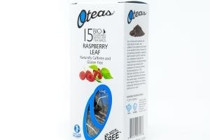 RASPBERRY LEAF BIO DEGRADABLE WHOLE LEAF TEA BAGS