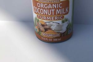 TURMERIC UNSWEETENED ORGANIC ORGANIC COCONUT MILK