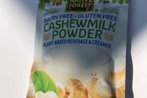 INSTANT CASHEWMILK POWDER PLANT-BASED BEVERAGE & CREAMER