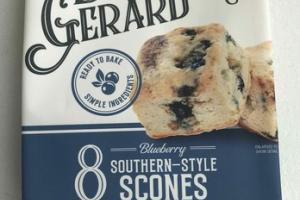BLUEBERRY SOUTHERN-STYLE SCONES