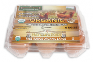 ORGANIC GRADE A LARGE BROWN EGGS