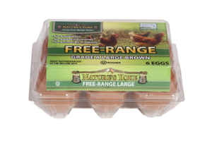 GRADE A FREE-RANGE LARGE BROWN EGGS