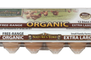GRADE A FREE-RANGE ORGANIC EXTRA LARGE BROWN EGGS