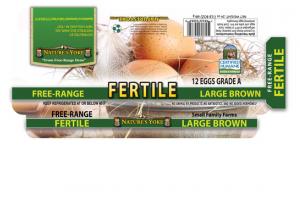 GRADE A FREE-RANGE FERTILE LARGE BROWN EGGS
