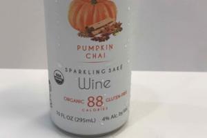 PUMPKIN CHAI SPARKLING SAKE WINE