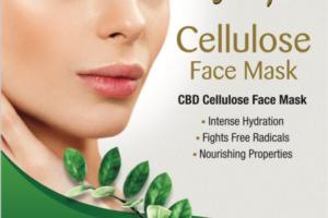 CBD CELLULOSE FACE MASK