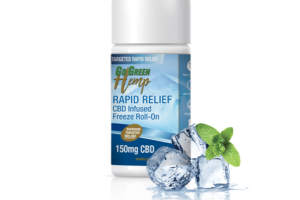 RAPID RELIEF CBD INFUSED FREEZE ROLL-ON
