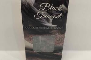 BLACK TRUMPET GOURMET DRIED MUSHROOMS
