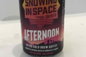 HALF CAFE BLEND AFTERNOON D'LITTE NITRO COLD BREW COFFEE