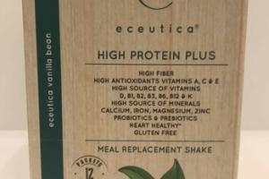 VANILLA BEAN HIGH PROTEIN PLUS MEAL REPLACEMENT SHAKE