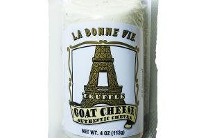 ALL NATURAL MILD & CREAMY TRUFFLE GOAT CHEESE