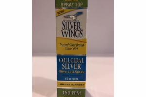 COLLOIDAL SILVER OLIVE LEAF SPRAY DIETARY SUPPLEMENT
