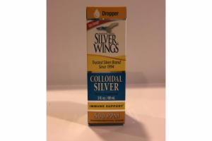COLLOIDAL SILVER DIETARY SUPPLEMENT