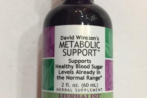 David Winston's Metabolic Support Herbal Supplement