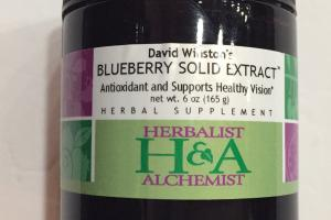 David Winston's Blueberry Solid Extract Herbal Supplement