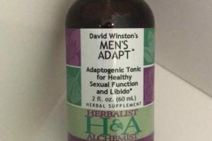 ADAPTOGENIC TONIC FOR HEALTHY SEXUAL FUNCTION AND LIBIDO HERBAL SUPPLEMENT