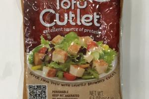 Organic Tofu Cutlet
