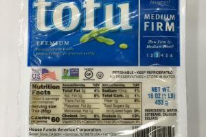 Premium Tofu Medium Firm