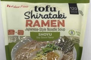 SHOYU TOFU SHIRATAKI RAMEN JAPANESE-STYLE NOODLE SOUP