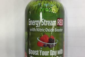 Energy Stream Red With Nitric Oxide Booster Dietary Supplement