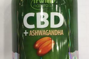 Cbd + Ashwagandha Dietary Supplement