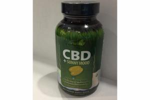 CBD + SUNNY MOOD LIQUID SOFT-GELS DIETARY SUPPLEMENT