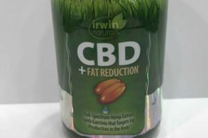 CBD + FAT REDUCTION DIETARY SUPPLEMENT 84 LIQUID SOFT-GELS