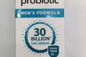 Probiotic Men's Formula Dietary Supplement